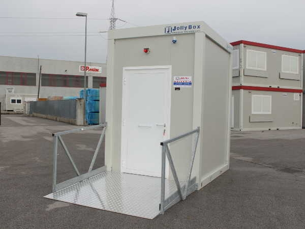 Jolly Box - Toilet Modules for the disabled, Portable Toilets
